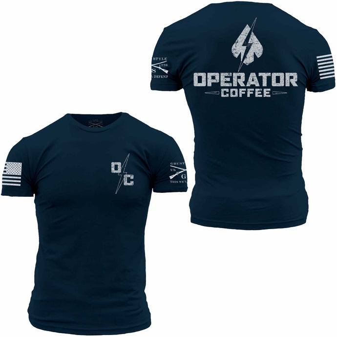 Operator Coffee T-Shirt