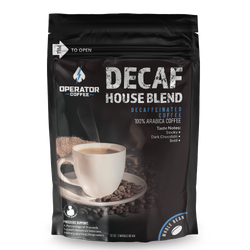 House Blend Decaffeinated Coffee