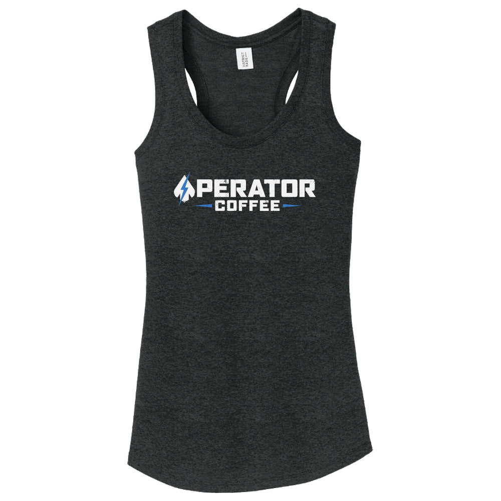 Ladies Tank Top - Operator Coffee