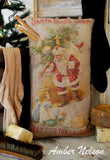 primitive farmhouse Santa Claus Soap Bathroom laundry wash room pillow Christmas