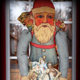 HUGE Santa Claus Belsnickle Door Wreath