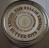 Mrs Leiland's old fashioned vintage antique retro funny butter bits tin can