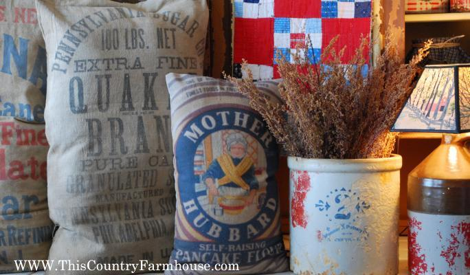 All kitchen pillows are available and make great old time displays~!