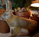 Spring natural earth garden Easter Rabbit bunny brown left
