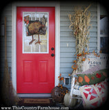 A turkey at the door (retired)