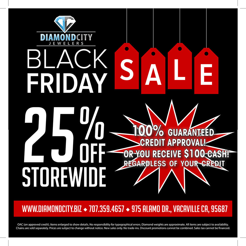 25% off - Black Friday Sale