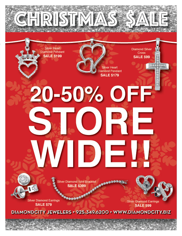 Christmas Sale 20-50% OFF Storewide!!