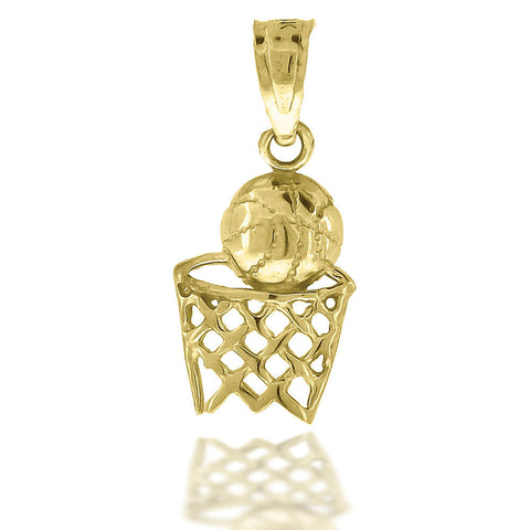 10KT Gold Fashion Pendant