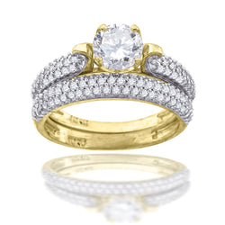 10K-Gold Bridal Ring