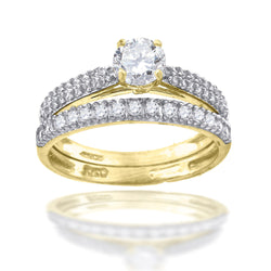 10KT-Gold Bridal Ring