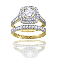 10KT Gold Bridal Ring