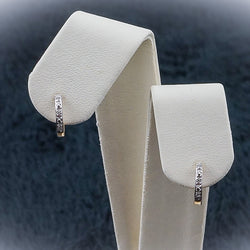 10K.05CT Diamond Earrings