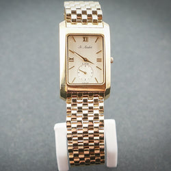 3ATM Yellow Rectangle Watch
