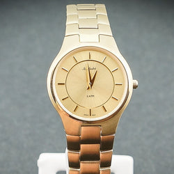St.Andre Stainless Steel Yellow Tone Ladies Watch