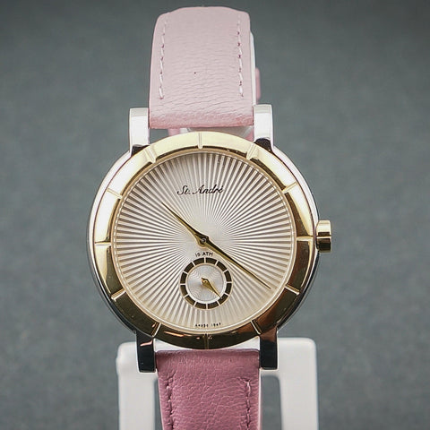St.Andre Ladies Watch 10ATM Stainless Steel Pink
