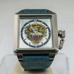 Ed Hardy Tiger Face Gents Watch