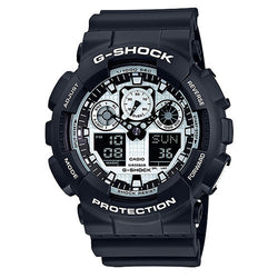 G-Shock Ana-Digi 3-Eye Blakc and White