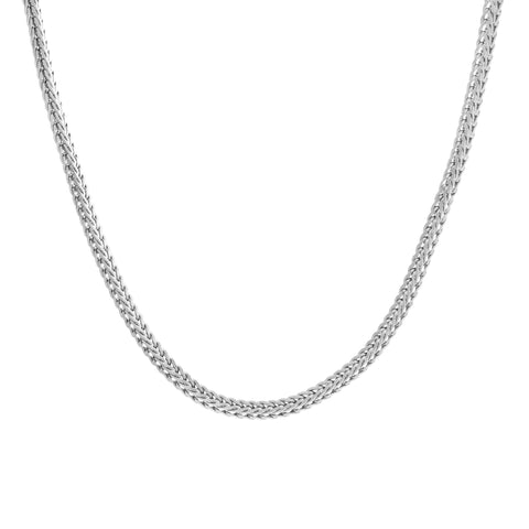Sterling Silver Foxtail Chain (3.5mm)