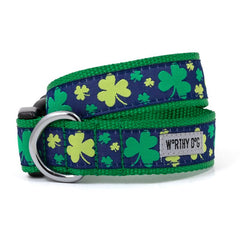 IRISH GREEN LUCKY DOG COLLAR