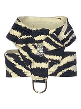 Load image into Gallery viewer, HOLLYWOOD BOW ULTRA SUEDE HARNESS: (Zebra) - doggyDAWGworld.com