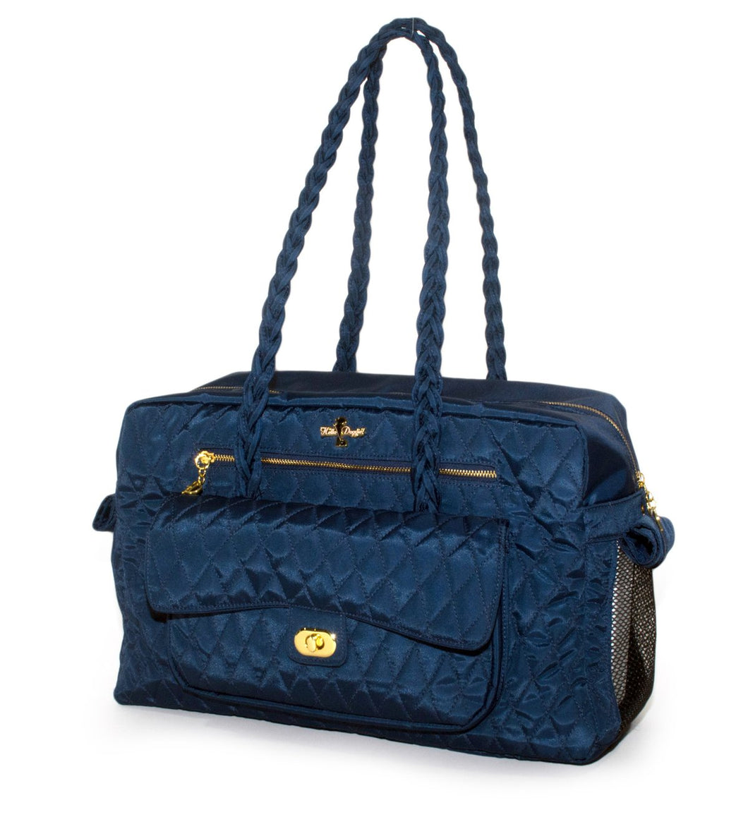 LUXURY CARRIER BAG (ROYAL BLUE) - doggyDAWGworld.com