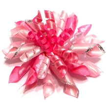 Load image into Gallery viewer, CONFETTI BOW/BARRETTE  (PINK/BLACK) - doggyDAWGworld.com