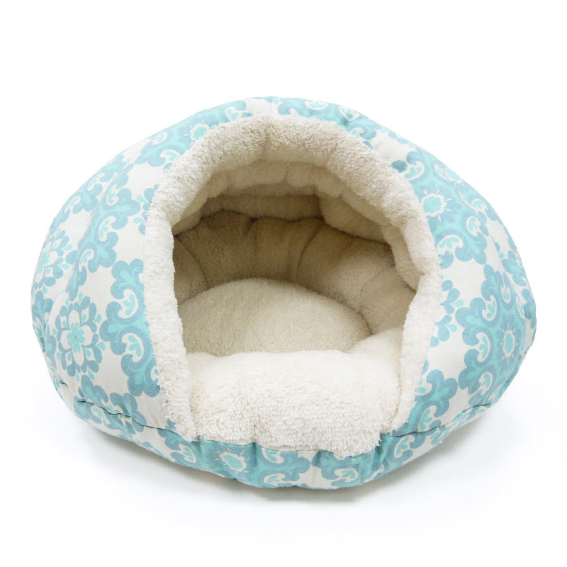 BURGER BED - Snowflake - doggyDAWGworld.com