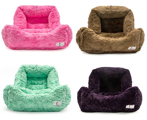 BELLA BED (FUCHSIA, MINT OR  ROYAL)