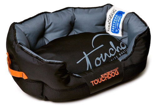 BLACK TOUCHDOG PERFORMANCE BED - doggyDAWGworld.com