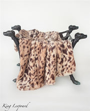 LUXE COLLECTION BLANKET (KING LEOPARD)