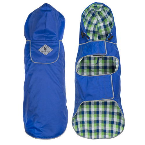 SEATTLE SLICKER- BLUE SAILBOAT - doggyDAWGworld.com