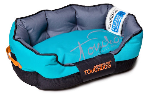 BLUE TOUCHDOG PERFORMANCE BED - doggyDAWGworld.com