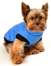 Load image into Gallery viewer, CROWN PUFFER VEST- BLUE - doggyDAWGworld.com
