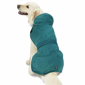 DAKOTA FAUX SUEDE JACKET (TEAL) - doggyDAWGworld.com