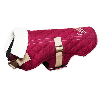 TOUCHDOG ORIGINAL SHERPA-BARK DESIGNER FASHION FORWARD (DARK PINK)