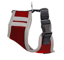 Load image into Gallery viewer, Kansas City Chiefs Dog Harness Vest (RED) - doggyDAWGworld.com
