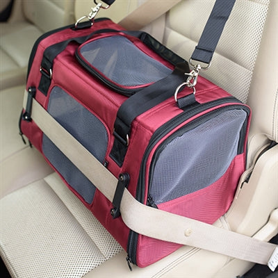Gen7Pets COMMUTER CARRIER, CAR SEAT (BERGUNDY)