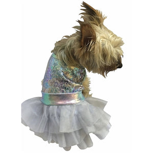 UNICORN SPARKLE FUFU TUTU DOG DRESS
