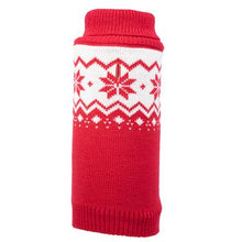 Load image into Gallery viewer, FAIRISLE SNOWFLAKE SWEATER - doggyDAWGworld.com