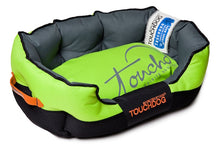 Load image into Gallery viewer, GREEN TOUCHDOG PERFORMANCE BED - doggyDAWGworld.com