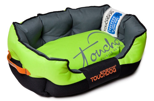 GREEN TOUCHDOG PERFORMANCE BED - doggyDAWGworld.com