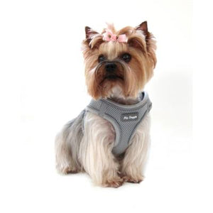 SPORTS MESH HARNESS VEST- Grey - doggyDAWGworld.com