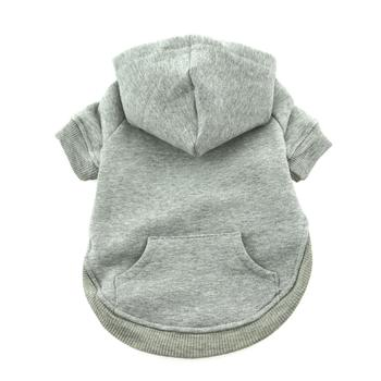 FLEX FIT HOODIE - Gray   **DDW Favorite - doggyDAWGworld.com