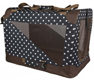 BROWN/BLACK  360° VISTA VIEW HOUSE PET CRATE