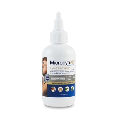 Eye and Ear Wash 3oz MicrocynAH - doggyDAWGworld.com