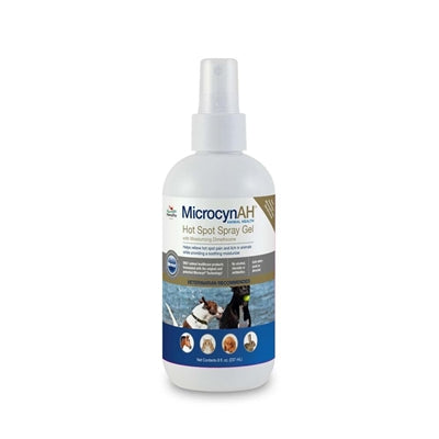 Hot Spot Hydrogel 8oz (MicrocynAH ) - doggyDAWGworld.com