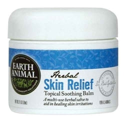 Earth Animal Herbal Skin Relief Topical Balm for Dogs & Cats 2oz - doggyDAWGworld.com