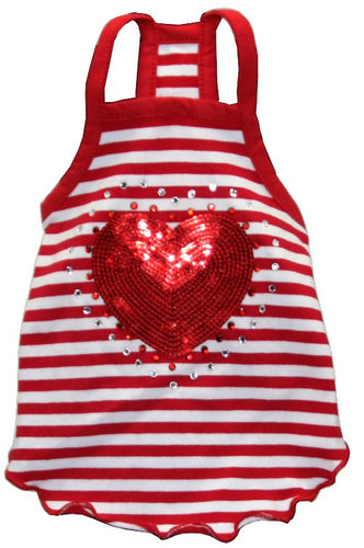 RED HEART TANK - doggyDAWGworld.com