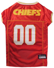 Load image into Gallery viewer, NFL Kansas City Chiefs Dog Jersey - doggyDAWGworld.com