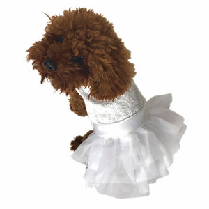 LE PETITE WEDDING DRESS - doggyDAWGworld.com